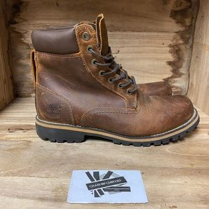 Timberland Leather Boots Brown